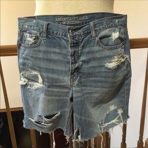 Vintage American Eagle tomgirl shorts